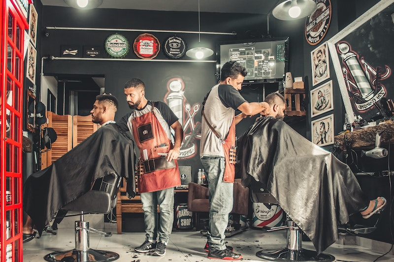 How to Advance Search for Men's Salon?